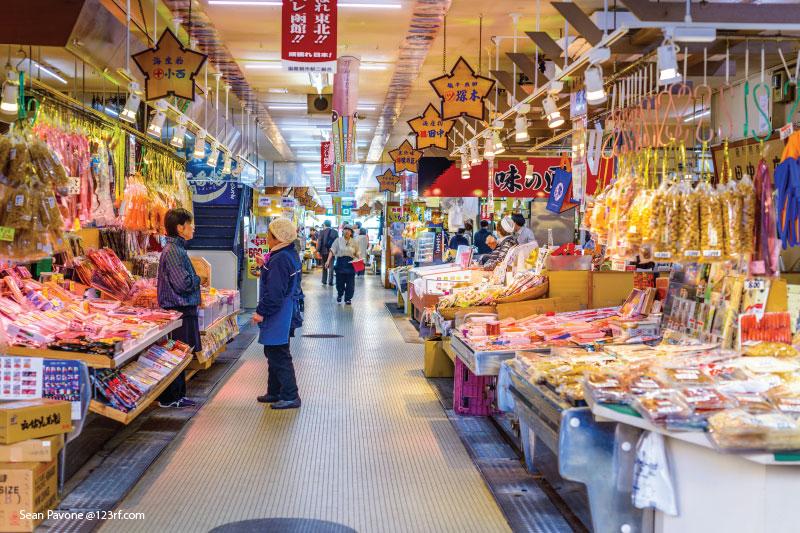 Best Food Hakodate Morning Market