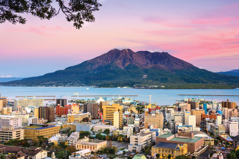10 Places of Nature That You Can Visit Around Kagoshima