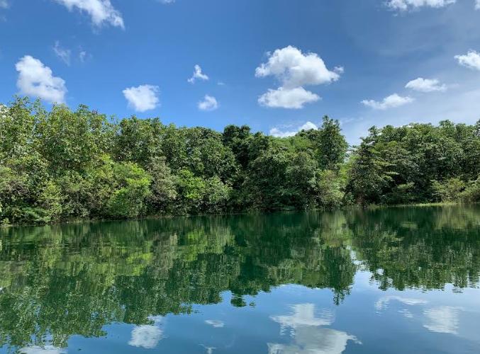 Tasik Biru – The Blue Lake at Kuching, Sarawak