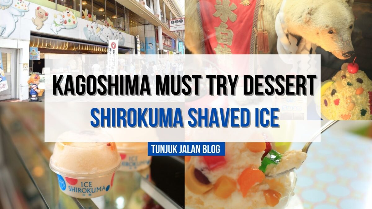 Shirokuma : One of the Popular Dessert in Kagoshima